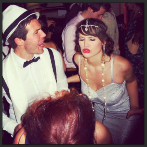 Roxy Vintage Style Dance Face Flapper